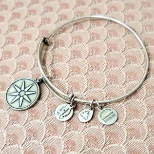 {Alex and Ani} + Energy sun dangle charm bracelet